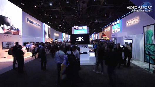 Panasonic's lifestyle changing 4K solutions at CES 2014