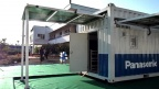 Life Innovation Container provided to a job training school in a semi-rural area in India[Panasonic]