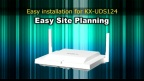 Panasonic KX-UDT/UDS series Easy Site Planning