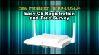 Panasonic KX-UDT/UDS series Easy CS Registration and Tree Survey