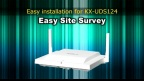 Panasonic KX-UDT/UDS series Easy Site Survey for Europe