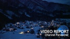 Panasonic casts a warm glow over World Heritage sites - Shirakawa-go -