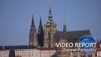The nostalgic glow of LEDs shines at the Prague Castle, a World Heritage site (1/3)[Panasonic]