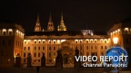 The nostalgic glow of LEDs shines at the Prague Castle, a World Heritage site (3/3)[Panasonic]