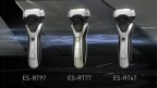 "Panasonic's New 3-Blade Shaver ES-RT97/77/47 ""Incredibly Close, Amazingly Gentle"""