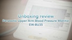 Unboxing Review Panasonic Upper Arm Blood Pressure Monitor EW-BU35
