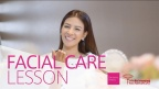 Facial Care Lesson with Miss International Finalists