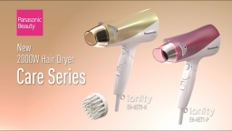 Introducing 2000W Panasonic Hair Dryer Care Series| EH-NE72/EH-NE71