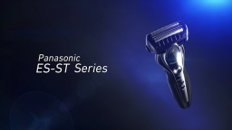 Panasonic 3-Blade Wet/Dry Shaver, ES-ST Series (English)
