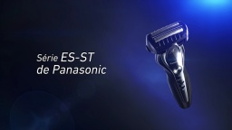 Panasonic 3-Blade Wet/Dry Shaver, ES-ST Series (French)