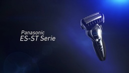 Panasonic 3-Blade Wet/Dry Shaver, ES-ST Series (German)