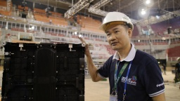 LED large screen display systems amplified the excitement - Rio 2016 Behind the Scenes