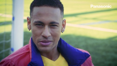 Neymar Jr. comments on CRAZY SKILLS final movie [Panasonic]