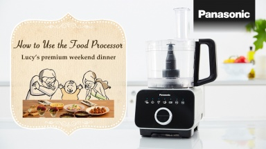 MK-F800 How to Use the Food Processor Premium Weekend Version