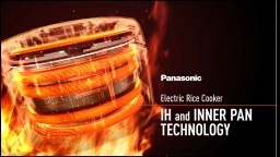 Panasonic IH Rice Cooker Technology