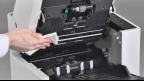 Panasonic KV-S2087 Document Scanner Cleaning Video