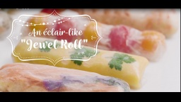 Panasonic Lucy's Cooking with Steam Convection Oven -Jewel Roll like Eclaire