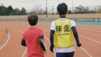Guide runner -Panasonic employees aspiring to reach the Paralympic Games-