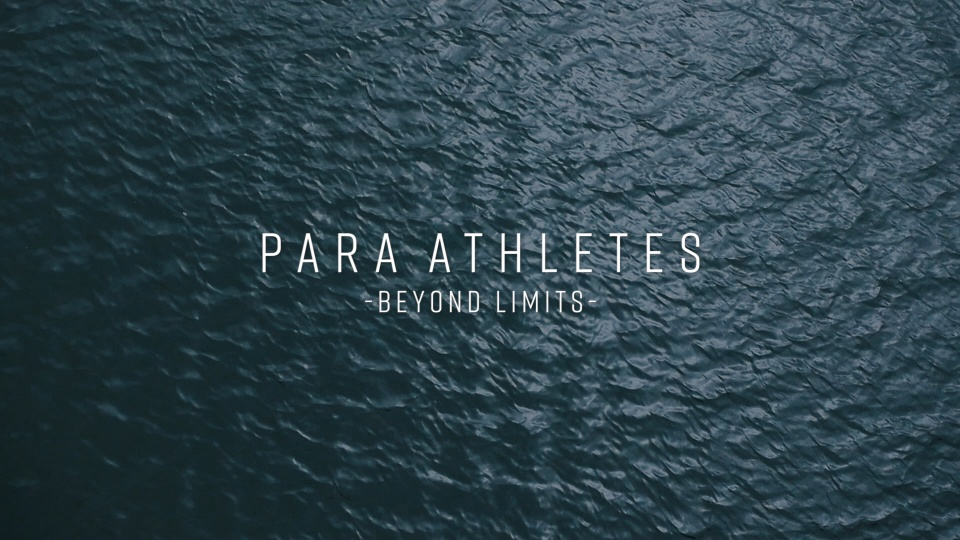 Panasonic employees aspiring to reach the Paralympic Games PARA ATHLETES - BEYOND LIMITS-