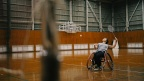 Badminton -Panasonic employees aspiring to reach the Paralympic Games-
