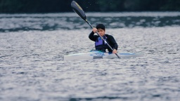 Para canoe -Panasonic employees aspiring to reach the Paralympic Games-