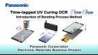 "Time-lagged UV Curing OCR ""Fine Glue"" introduction of bonding process - Panasonic"