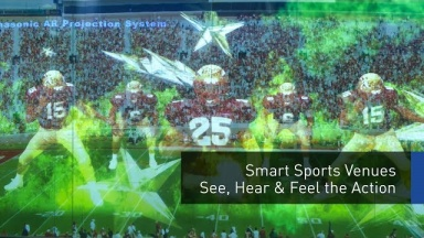 Smart Sports Venues: See, Hear, & Feel the Action   #PanasonicCES 2018