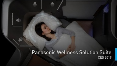 Wellness Solution Suite Enhancing the Passenger Experience at #PanasonicCES 2019