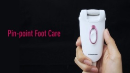 Panasonic Foot Care ES-WE22 | Speedy and Precise Pedicure for Silky Feet