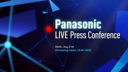 Panasonic Press Conference LIVE @ IFA 2016 | #PanasonicIFA #IFA16 [Recorded]