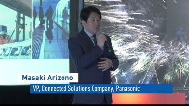 Talks of Masaki Arizono, Director of Panasonic Media Entertainment Business Division