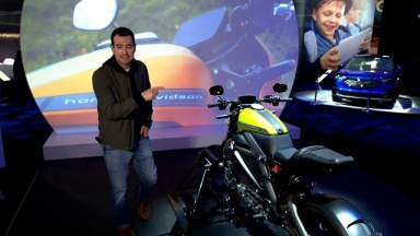 Harley-Davidson's first electric motorcycle | #PanasonicCES 2019