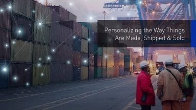Personalizing the Way Things Are Made, Shipped & Sold   #PanasonicCES 2018