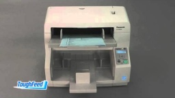 Panasonic Document Scanner: ToughFeed/ Ultrasonic Double-Feed Detection Introduction Movie