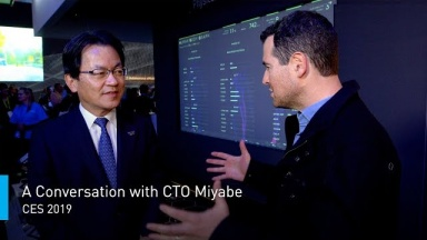 A Conversation with CTO Yoshiyuki Miyabe on Tech Strategy | #PanasonicCES 2019