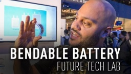 Find Out Why the World Needs Bendable Batteries at #PanasonicCES 2017