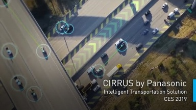 CIRRUS by Panasonic Intelligent Transportation Solution | #PanasonicCES 2019