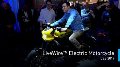 LiveWire: The Most Connected Electric Motorcycle Experience Ever | #PanasonicCES 2019