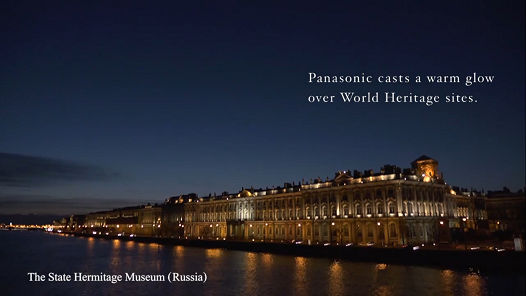 Panasonic casts a warm glow over World Heritage sites - The State Hermitage Museum