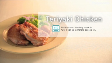"Panasonic Cooking recipes for NN-CS894 ""Teriyaki Chicken"""