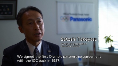 The Olympic Games and Panasonic - Shared Philosophy