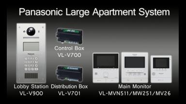 Panasonic Video Intercom System (for Apartment Complexes)